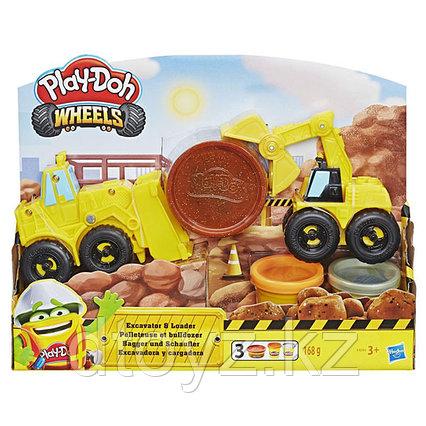 "Hasbro Play-Doh Набор ""Экскаватор"""