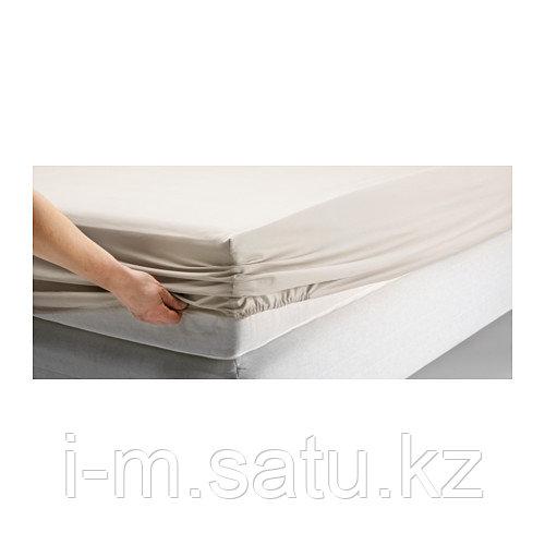 ДВАЛА Простыня натяжная, 180х200 см