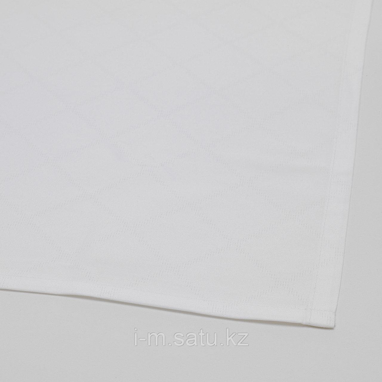 ФУЛЛКОМЛИГ Скатерть, белый, 145x240 см
