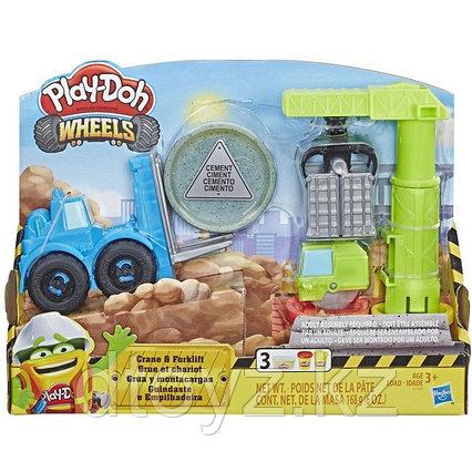 """Hasbro Play-Doh Игровой набор """"Кран-Погрузчик"""""""