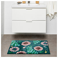 САНДТРЭСКЕТ Коврик для ванной, разноцветный, 50x80 см, фото 1