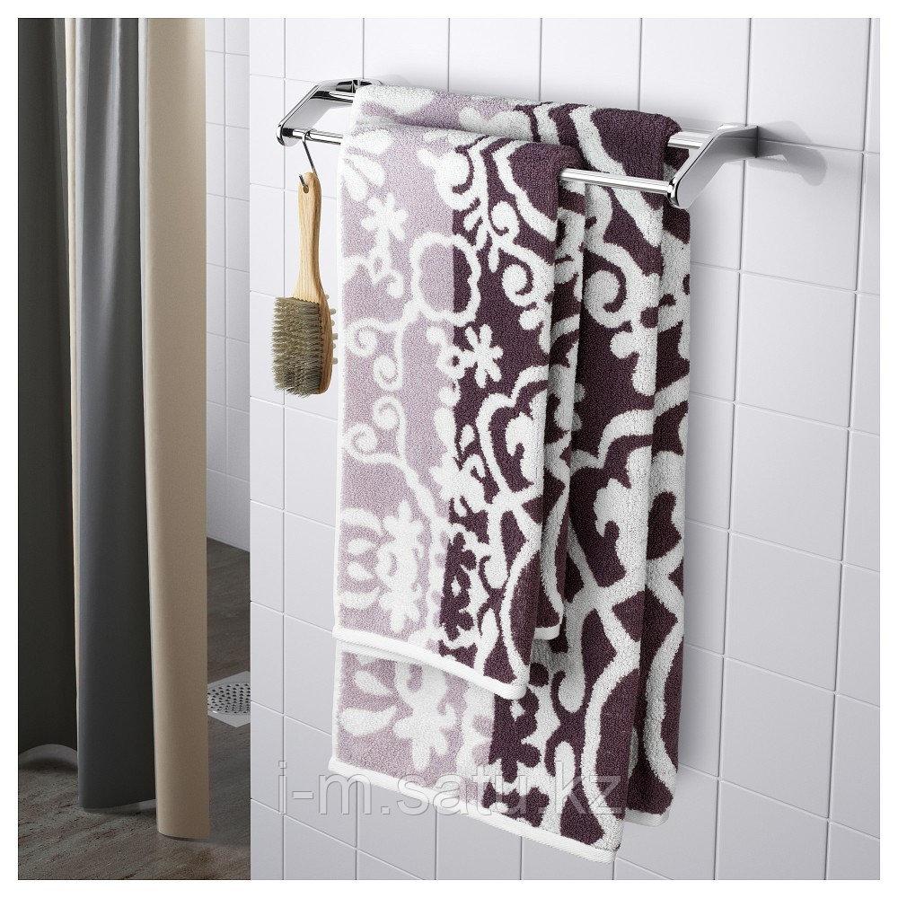 БЛЭДЬЕН Банное полотенце, сиреневый, 70x140 см