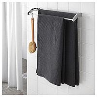 САЛЬВИКЕН Банное полотенце, антрацит, 70x140 см, фото 1