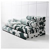 БЛЭДЬЕН Банное полотенце, зеленый, 70x140 см, фото 1
