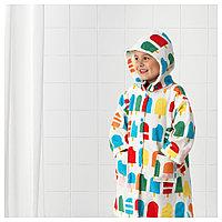 СЬЁЛЕЙОН Халат купальный, орнамент «мороженое на палочке», 98/110, фото 1