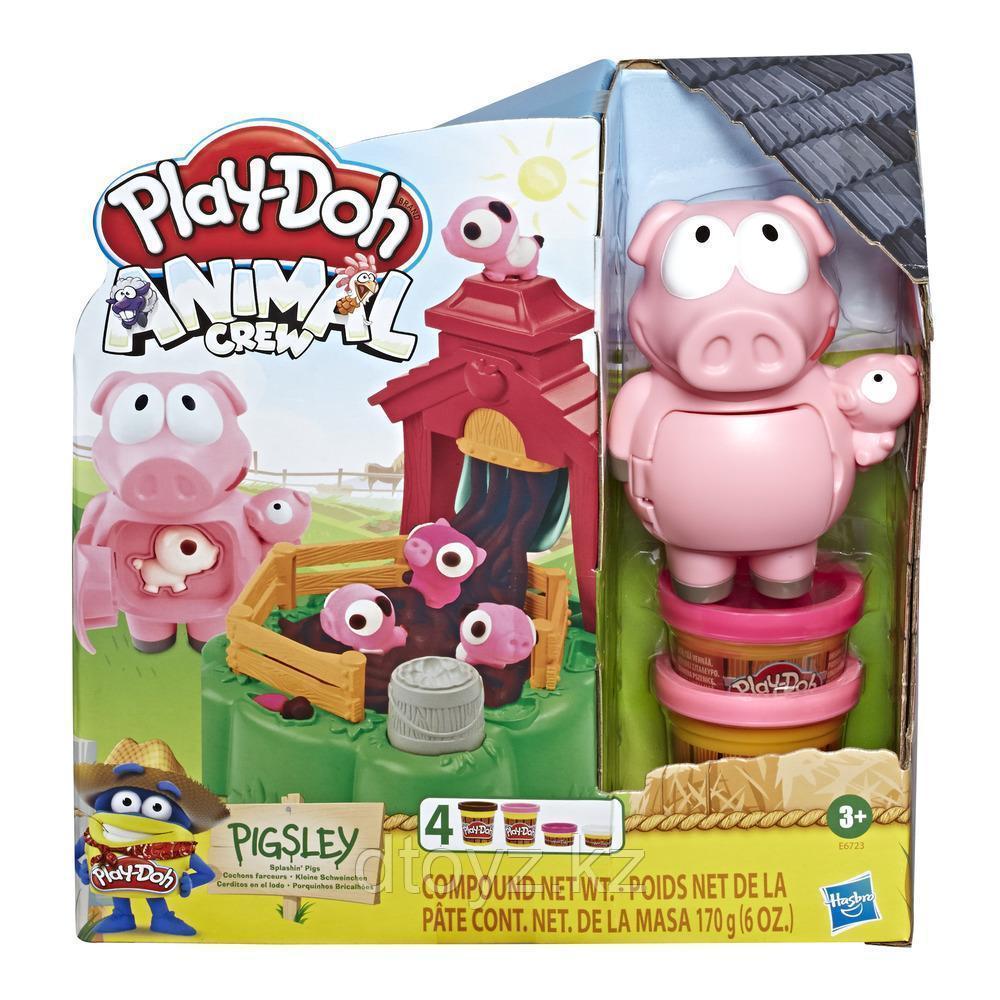 """Hasbro Play-Doh Игровой набор """"Озорные поросята"""""""