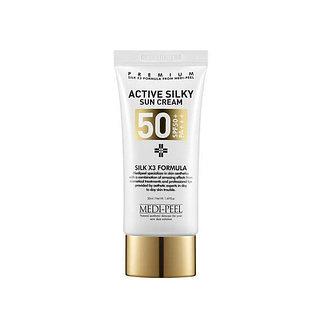 Солнцезащитный крем MEDI-PEEL Active Silky Sun Cream SPF50+PA+++ 50мл
