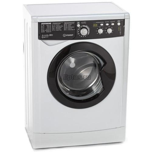 Стиральная машина Indesit EWSD 51031 BK CIS белый-черный