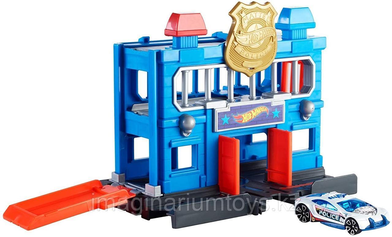 Hot Wheels City набор «Полицейский участок» Хот Вилс Город