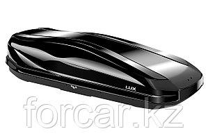 Бокс LUX IRBIS 175 черный глянцевый 450 л (175х85х40 см.) с двусторонним открыванием