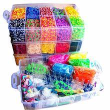 Наборы для плетения браслетов из резиночек
