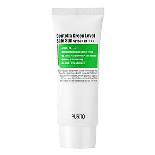Солнцезащитный крем для чувствительной кожи Purito Centella Green Sun Level Safe SPF50+PA++++