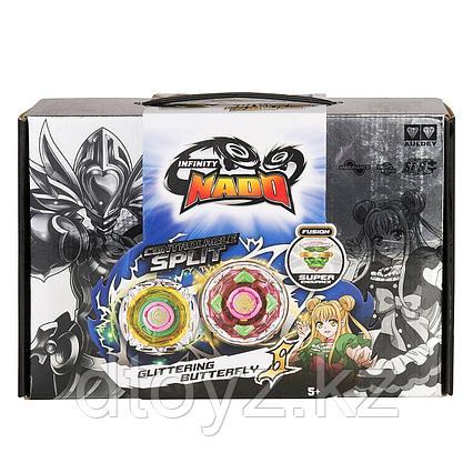 Infinity Nado:  36065 Волчок Крэк, Glittering Butterfly