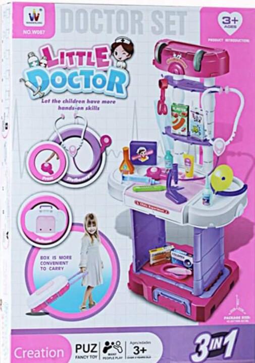 Набор Little Doctor Маленький Доктор с чемоданом