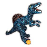 Динозавры фигурки, со звуком, из резины.