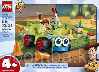 Конструктор LEGO Juniors - ЛЕГО Джуниорс История игрушек: Вуди на машине