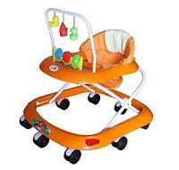 Детские ходунки Alis Весело шагать С оранжевый, фото 1