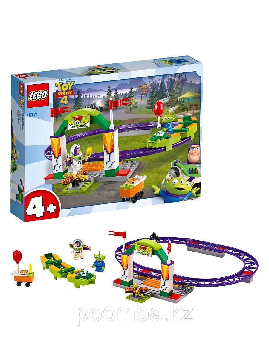 Конструктор LEGO Juniors - ЛЕГО Джуниорс История игрушек: Аттракцион Паровозик