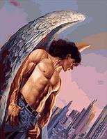 "Картина по номерам ""Ангел или демон?"" , 40х50 см"
