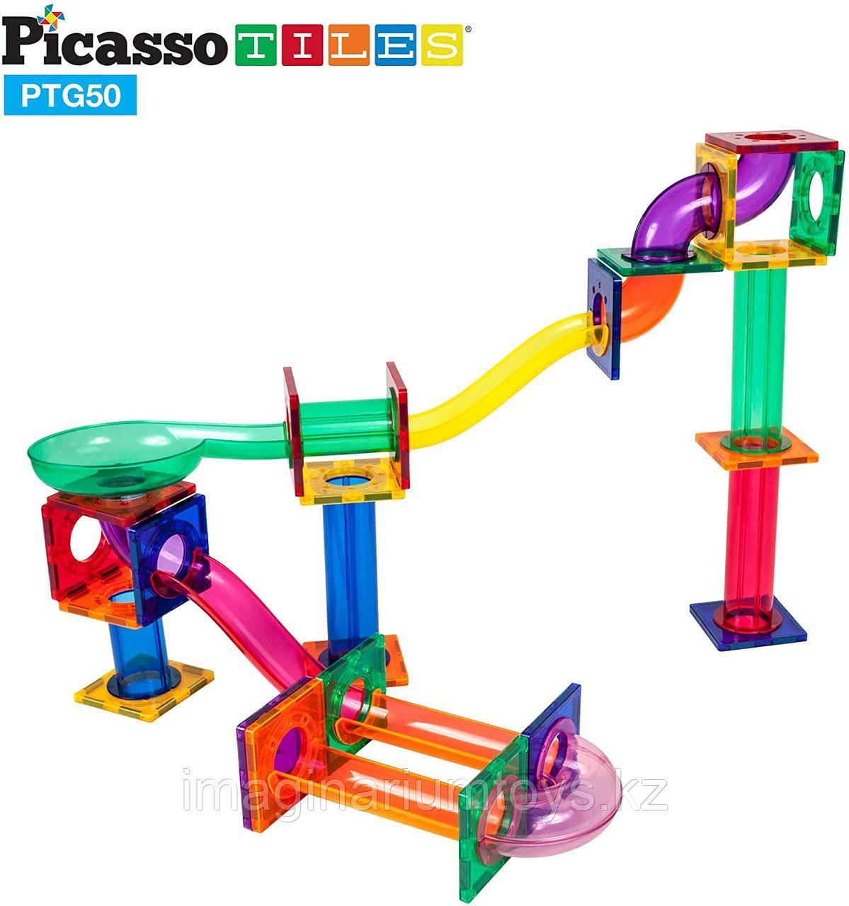 Магнитный конструктор для детей «Трек для шарика»