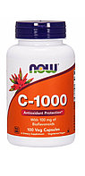 Витамин С Now Foods, C-1000, 100 капсул.