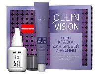 Набор краска для окрашивания бровей и ресниц Ollin Vision