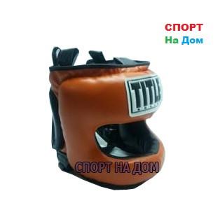 Боксерский шлем с бампером TITLE (защита челюсти)