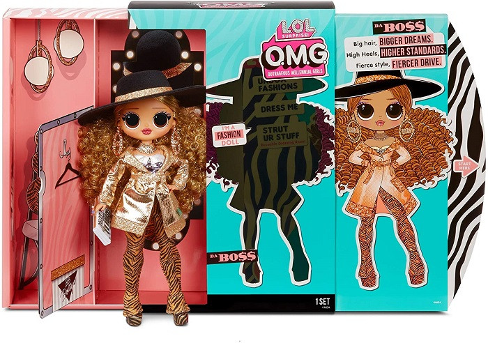 Кукла L.O.L. O.M.G. Da Boss 3 серия лол ОМГ