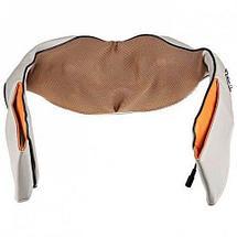 Массажер роликовый для шеи и плеч с ИК-прогревом Neck Kneading MJY-089 {авто 12В + дом 220В}, фото 3
