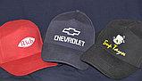 Кепки с логотипом компании купить, черного  цвета, фото 3