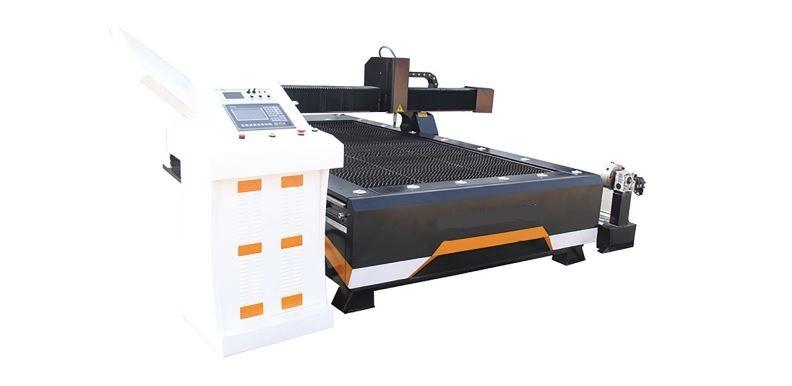 Плазменный станок для резки мет.листов и труб 1300х2500 с ЧПУ со столом