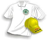 Футболки с логотипом компании черные, фото 6