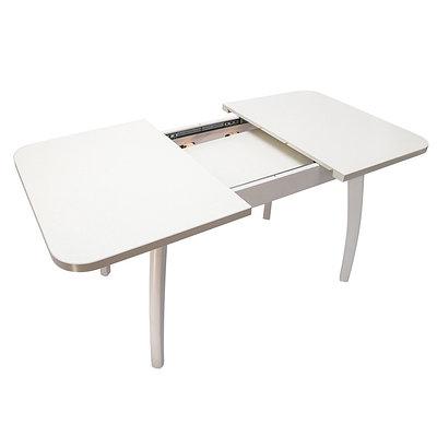 Стол Виконт 80/120/160 раздвижной (белый)