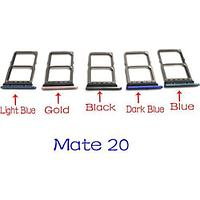 Huawei Mate 20 Lite Лоток Sim-карты (Black)