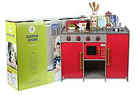 Детская деревянная кухня European Kitchen, (Style B)