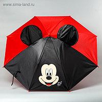 Зонт детский с ушами «Микки Маус» Ø 70 см