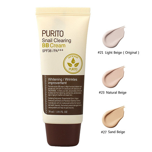 Purito Snail Clearing BB Cream SPF38/pa+++