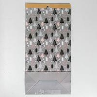 Пакет крафтовый 'Ёлочки', 32 х 64 х 16 см
