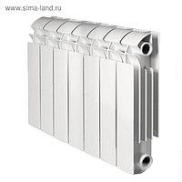 Радиатор Global VOX R 350, алюминиевый, 7 секций