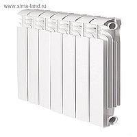 Радиатор Global ISEO 500, алюминиевый, 7 секций