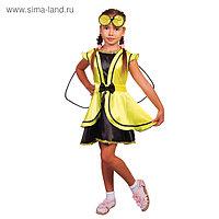 """Карнавальный костюм """"Муха"""", платье, повязка, р-р 32, рост 122-128 см"""