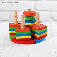 Пирамидка логическая «Пазл»