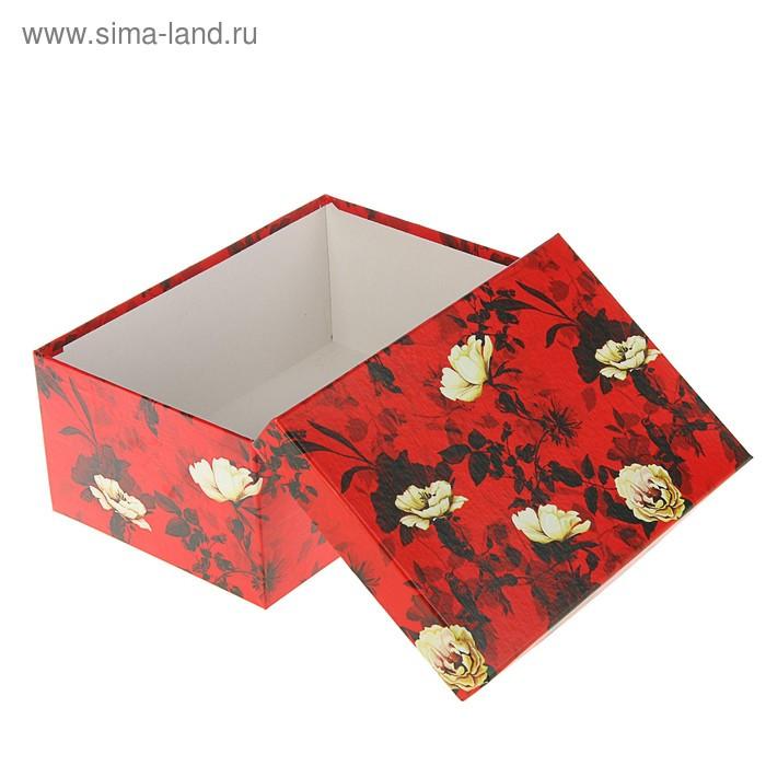 "Набор коробок 10в1 ""Белый шиповник"" 30,5 х 20 х 13 - 12 х 6,5 х 4 см - фото 2"