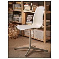 ЛЕЙФ-АРНЕ Рабочий стул, белый, Бальсбергет белый, фото 1