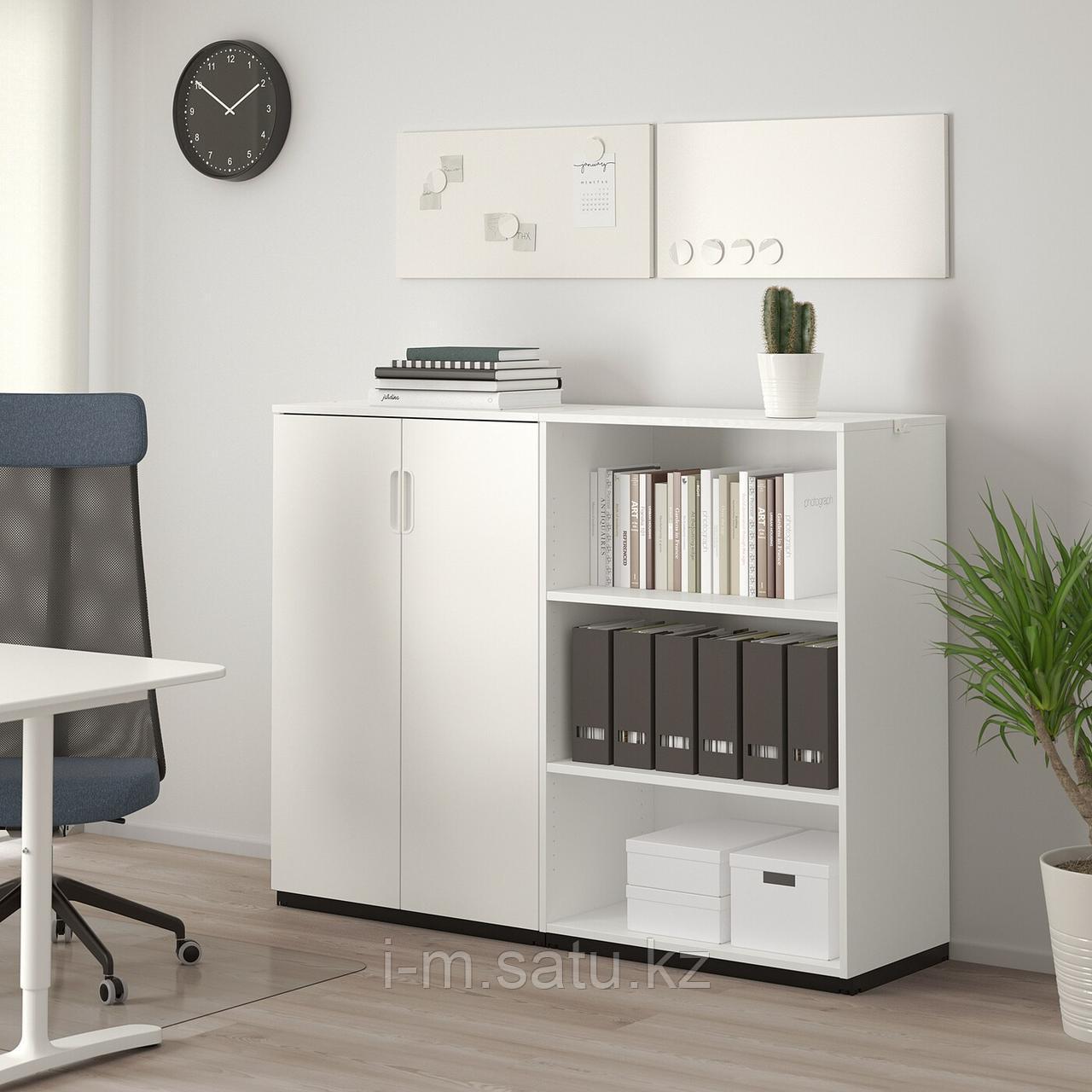 ГАЛАНТ Комбинация д/хранения, белый, 160x120 см
