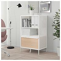 БЕКАНТ Модуль для хранения, на ножках, сетка белый, сетка белый 61x101 см, фото 1