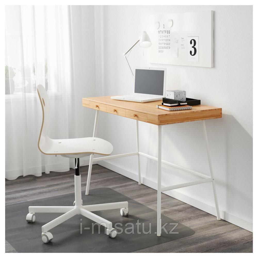 ЛИЛЛОСЕН Письменный стол, бамбук, бамбук 102x49 см