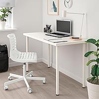 СКОЛБЕРГ / СПОРРЕН Рабочий стул, белый, белый, фото 1