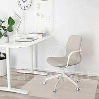 ЛОНГФЬЕЛЛЬ Рабочий стул, Гуннаред бежевый, белый, фото 1