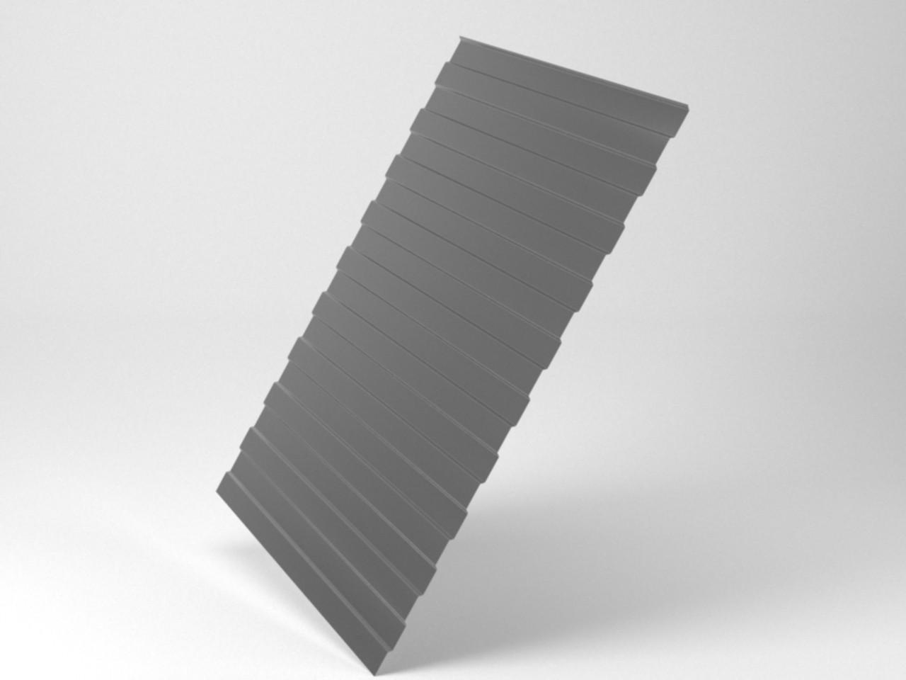 Профилированный лист оцинкованный С8 (ширина 1,2/1,15)